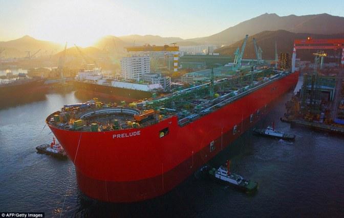 PRELUDE (kapal terbesar di dunia)